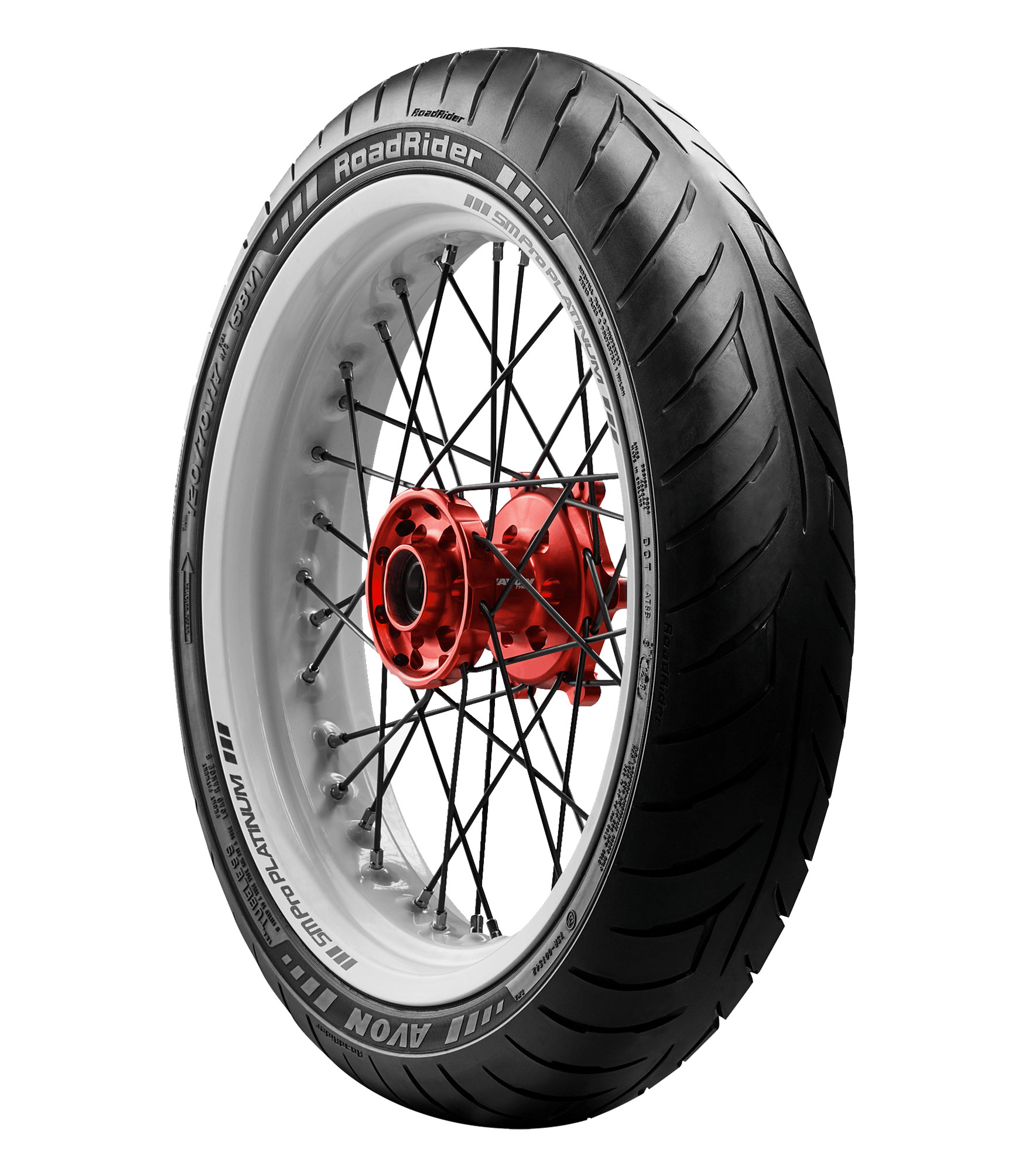 Avon Roadrider AM26 Universal Classic//Vintage Motorcycle Tire 120//90-17